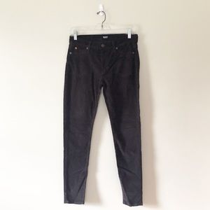Hudson Jeans Nico Mid Rise Skinny Corduroy Pants